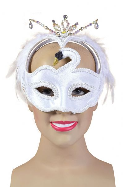 Black Swan Eyemask Masquerade Ball Eye-Mask Eye Mask Fancy Dress